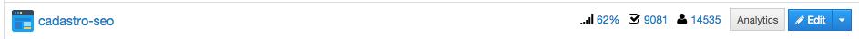 criação de lista de emails - taxa de conversão