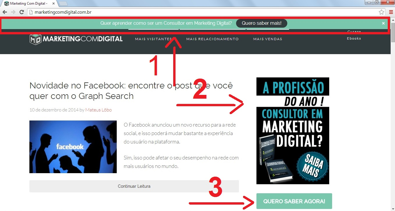 divulgar blog marketing digital dinheiro