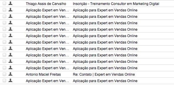 Aplicação Expert em Vendas Online