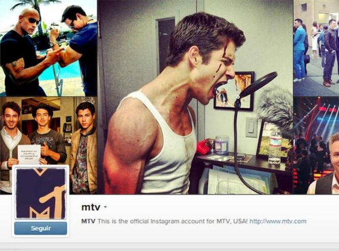 MTV bastidores instagram dicas