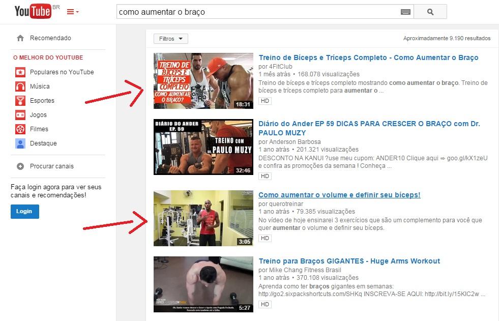 palavra chave youtube SEO otimização