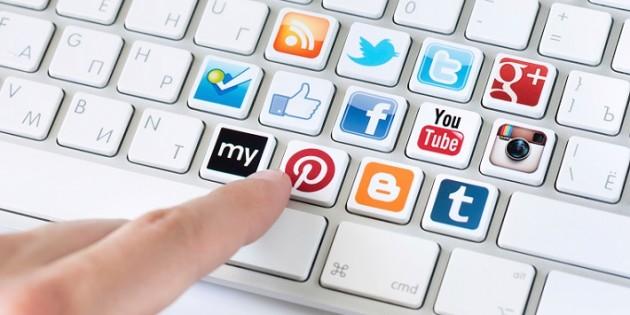 social media mídias sociais negócios