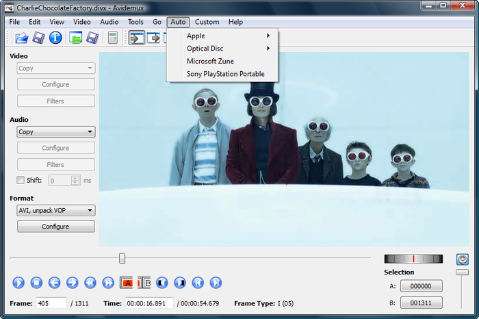 Avidemux editor video gratis