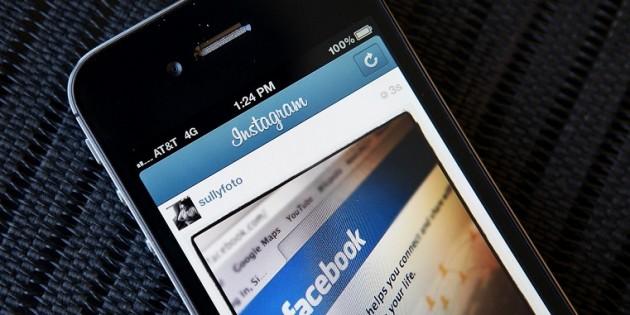 Instagram Facebook negócios anúncios
