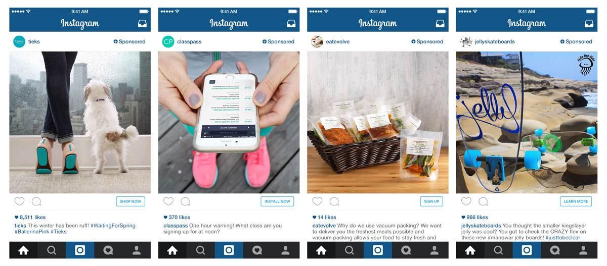 Instagram Negócios marketing digital anúncio