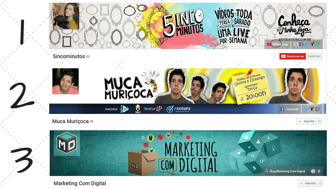 Capas Arte Canal Youtube
