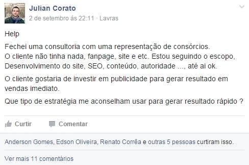 Facebook Grupo Negocios Marketing Digital
