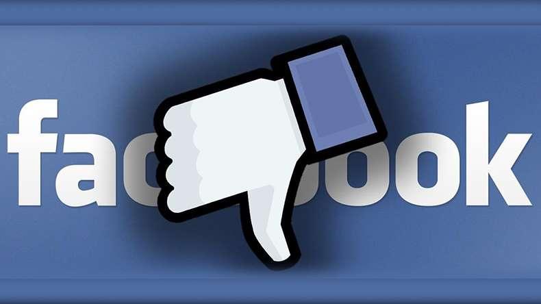 facebook nao curti