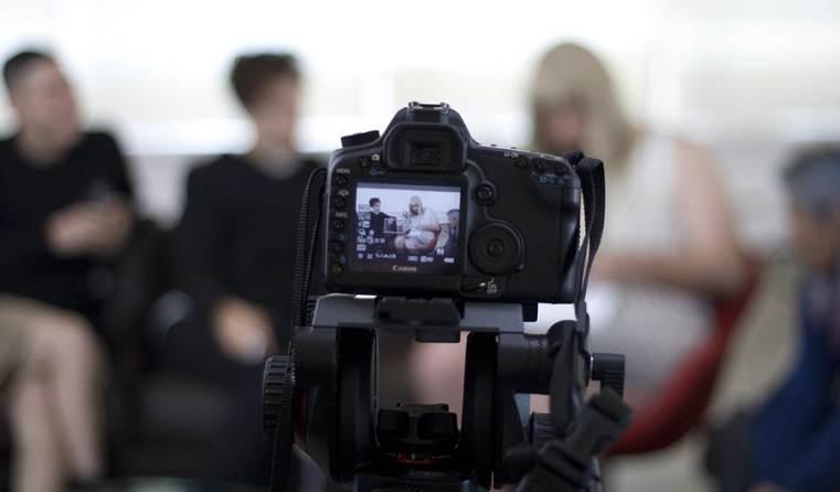 produzir conteudo texto video audio