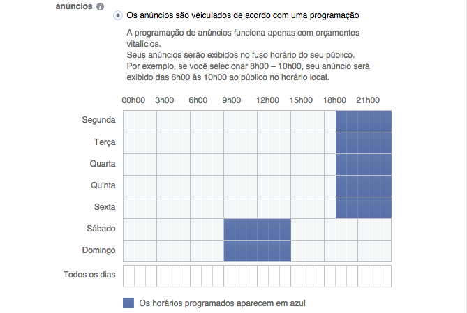 programar anuncios facebook google analytics