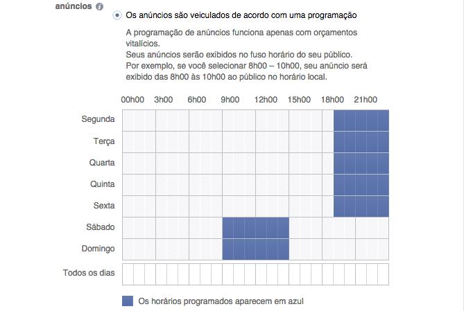 programar anuncios facebook google analytics