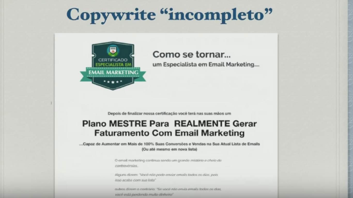 copy incompleto